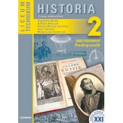 Historia 2. Czasy nowożytne. Zakres podstawowy. Podręcznik dla liceum ogólnokształcącego, liceum profilowanego i technik