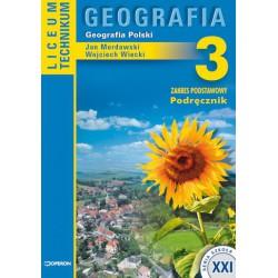 Geografia 3. Geografia Polski. Zakres podstawowy, podręcznik