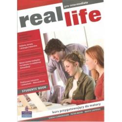 real life pre-intermediate. Kurs przygotowujący do matury