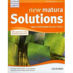 new matura Solutions Upper-Intermediate Student's Book