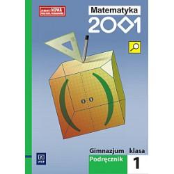Matematyka 2001 gimnazjum klasa 1