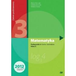 Matematyka 3 Podręcznik do liceów i techników klasa 3. Zakres podstawowy