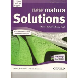 new matura Solutions Intermediate Students' Book