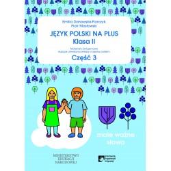 Język polski na plus klasa 2  część 3