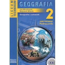 Geografia 2. Geografia i człowiek. Zakres podstawowy, podręcznik