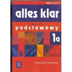 Alles klar 1a - zakres podstawowy. Podręcznik z ćwiczeniami dla LO, LP i Technikum