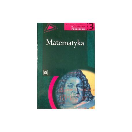 """""""Matematyka. klasa 3. Kształcenie w zakresie podstawowym. Podręcznik dla liceum ogólnokształcącego, liceum profilowanego"""