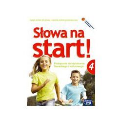 Słowa na start!  Podręcznik do kształcenia literackiego i kulturowego   +Dodatek wakacyjny