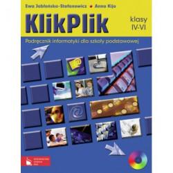 KlikPlik Podręcznik informatyki dla szkoły podstawowej. Klasy IV-VI