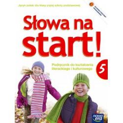 Słowa na start! Podręcznik do kształcenia literackiego i kulturowego + dodatek wakacyjny