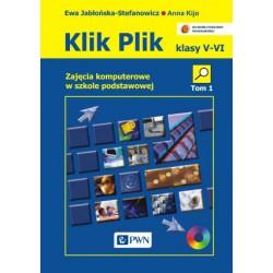 Klik-Plik Zajęcia komputerowe w szkole podstawowej. Klasy IV-VI