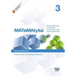 MATeMAtyka 3. Zakres podstawowy.Podręcznik dla szkół ponadgimnazjalnych