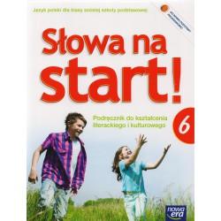 Słowa na start!  Podręcznik  do kształcenia literackiego i kulturowego  dla klasy szóstej szkoły podstawowej+ dodatek