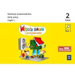 Wesoła szkoła i przyjaciele. Klasa 2. Karty pracy cz.1-5