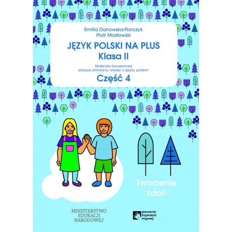 Język polski na plus klasa 2  część 4